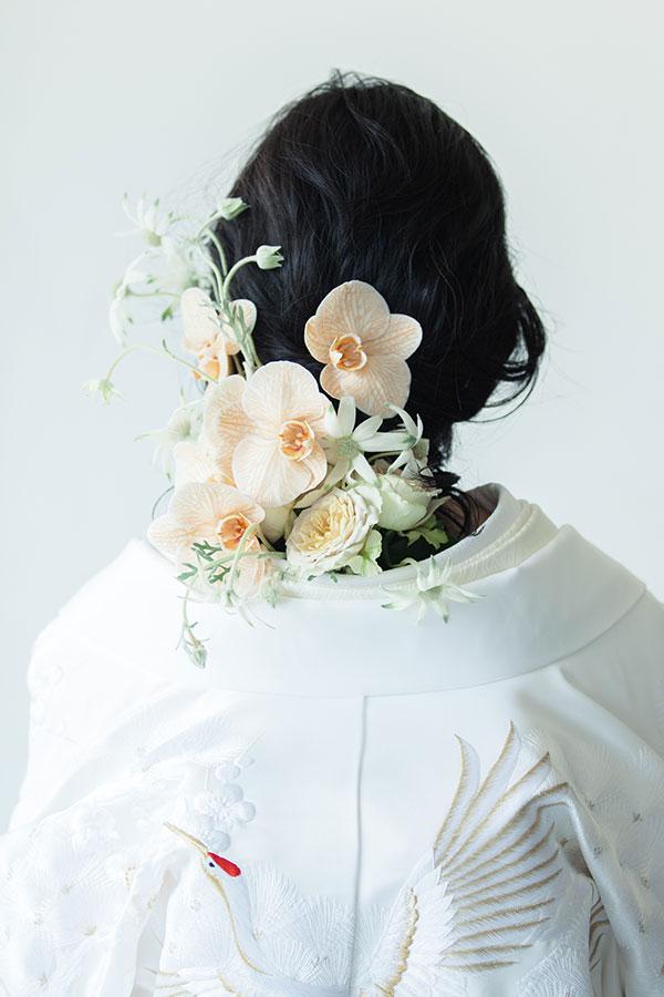 白無垢[群翔吉祥小袖紋]