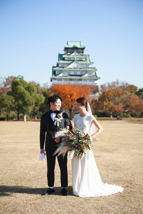 -Bride Style- 2019.12.9 大阪城西の丸庭園 大阪迎賓館